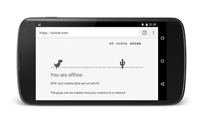 Hidden Game Inside your Google Chrome, It works on Android as well !