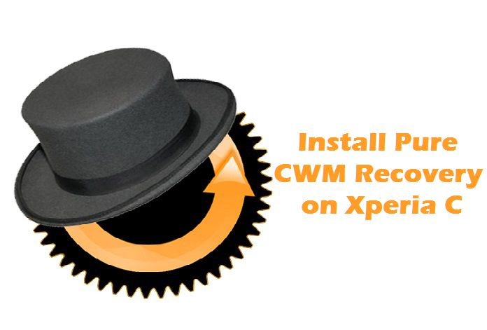 install Pure CWM Recovery on Xperia C