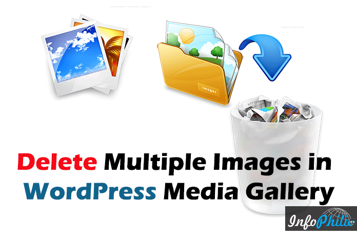 How to Delete Multiple Images in WordPress Media Gallery