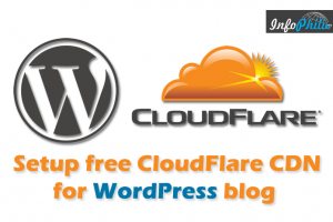 How to setup CloudFlare CDN for WordPress blog