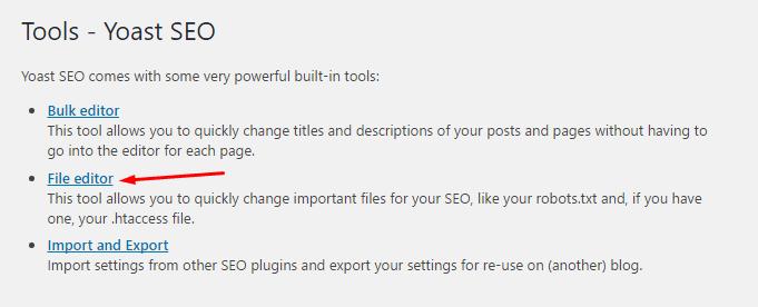 File editor