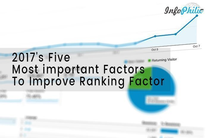 2017's Five Most important Factors To Improve Ranking Factor