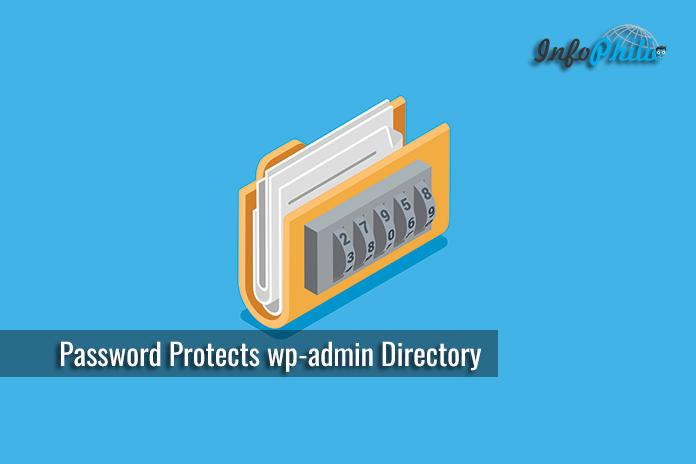 Password Protects WordPress Admin Directory