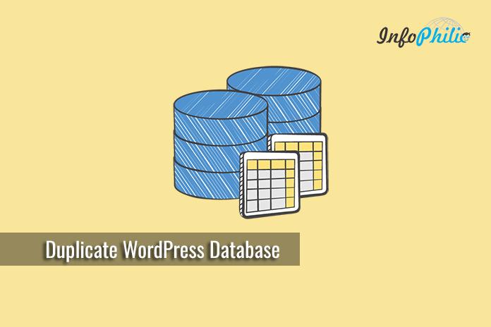 How to Duplicate WordPress Database using phpMyAdmin
