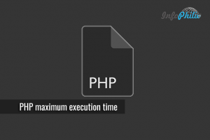 How to Increase PHP maximum execution time
