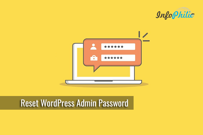 Reset your WordPress Admin Password