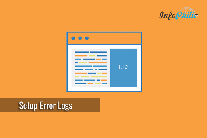 how to add error log in wordpress