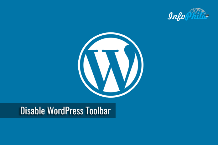 Disable the WordPress Toolbar
