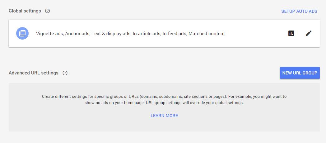 Pengaturan URL lanjutan dalam Iklan Otomatis