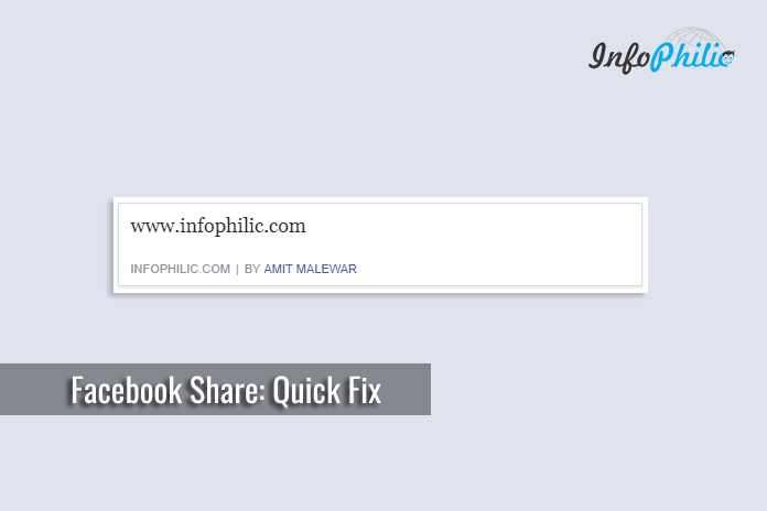 Facebook Share not Showing Title and Image in Preview: Quick Fix