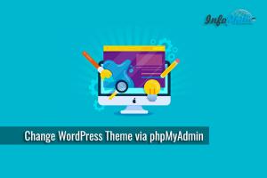 Change WordPress Theme via phpMyAdmin