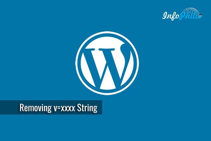 Removing v=xxxx String