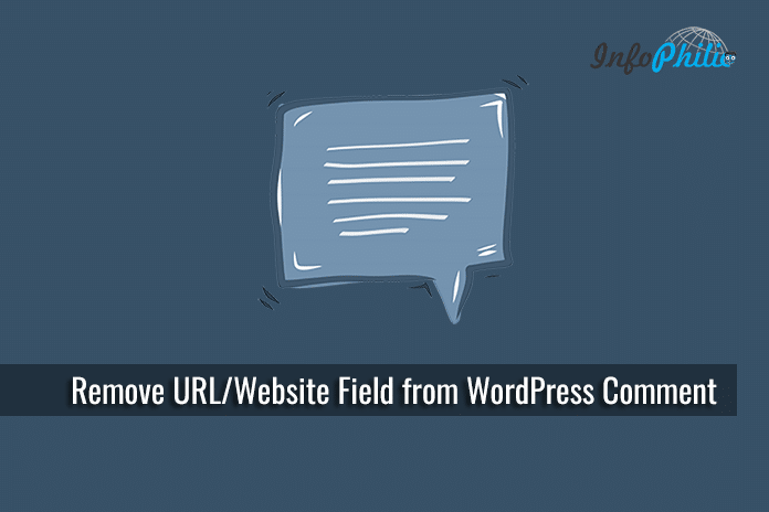 Remove URL / Website Field from WordPress Comment Form