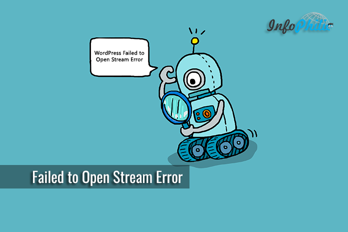 Fix Failed to Open Stream Error in WordPress