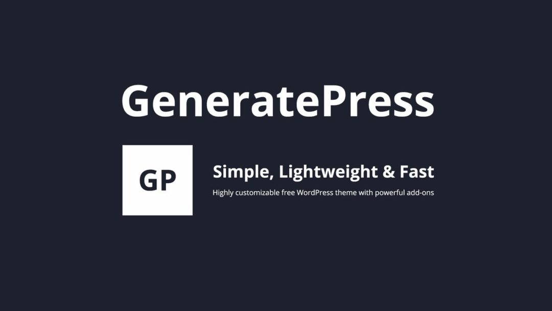 GeneratePress Coupon